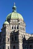 Cupola, Prawodawczy budynek, Wiktoria, BC Zdjęcie Stock