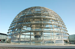 Cupola of the Reichstag Royalty Free Stock Photos