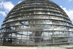 Dome of German Parliament in Berlin. Cupola of Reichstag in Berlin Stock Image