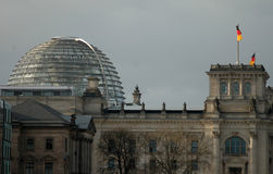 Cupola of the Reichstag Royalty Free Stock Images