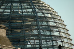 Cupola of the Reichstag Stock Photo