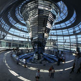 Cupola of the Reichstag Royalty Free Stock Photography