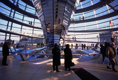 Cupola of the Reichstag Stock Photos