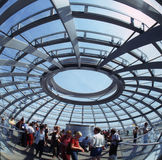 Cupola of the Reichstag Stock Photography
