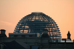Cupola of the Reichstag Stock Image
