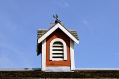 Cupola on roof of a barn Royalty Free Stock Images