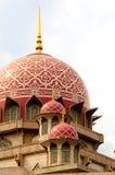 Cupola rossa della moschea Fotografie Stock