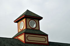 Cupola with round windows. Image of a cupola with round windows Royalty Free Stock Photography