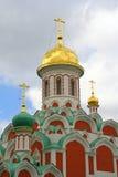 Cupola russa della chiesa Fotografie Stock Libere da Diritti