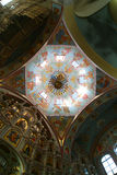 Cupola of Russian Orthodox Church royalty free stock photography