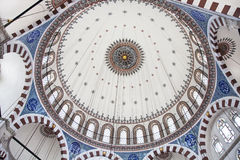 Cupola of Rustem Pasha Mosque, Istanbul Royalty Free Stock Image