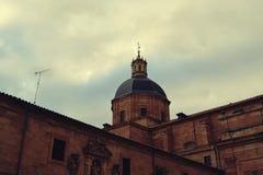 Cupola Salamanca di architettura classica Immagini Stock