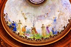 Cupola San Francisco el Grande Madrid Spain di cielo di angeli Fotografia Stock Libera da Diritti