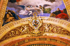 Cupola San Francisco el Grande Madrid Spain di simbolo Immagini Stock
