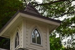 Cupola on a Shelter Stock Photo