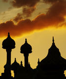 Cupola silhouette Royalty Free Stock Photography