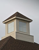 Cupola with square windows. Image of a cupola with square windows Stock Photos