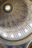 Cupola in St peter basil Stock Photography