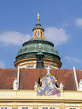 Cupola of St Peter and Paul church in Melk abbey Royalty Free Stock Photo