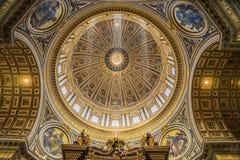 Cupola St. Peter Stock Photo