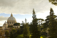 Cupola of St. Peter's Basilica Royalty Free Stock Photography