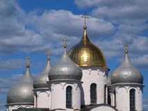Cupola of the St. Sofia cathedral Royalty Free Stock Photography