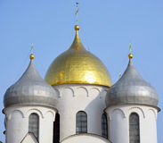 Cupola of the St. Sofia cathedral Royalty Free Stock Image