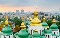 Cupola of St. Sophia Cathedral. Kiev Stock Image