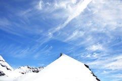 Cupola su Jungfrau, montagna della Sfinge Fotografia Stock Libera da Diritti