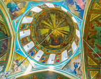 The cupola of Surb Gevorg Church in Tbilisi Royalty Free Stock Photos
