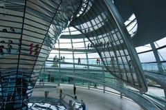 Cupola tedesca di Reichstag Fotografia Stock