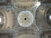 Cupola of THEATINERKIRCHE in Munich, Germany Royalty Free Stock Photos