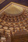 Cupola of Tilya Kori Madrasah Stock Photo