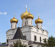 Cupola of Trinity Cathedral in Ipatiev monastery Stock Images