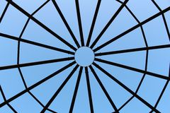 Cupola. A cupola which looks like a spider web Royalty Free Stock Photo
