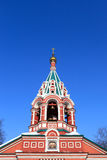Cupola of Znamenskaya Church Royalty Free Stock Photos