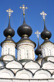 Cupolas and crosses. On the Russian church (Suzdal Stock Images