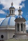 Cupolas of Cuenca Royalty Free Stock Image