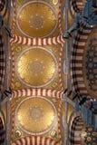 The cupolas of Notre-Dame de la Garde, Marseille Stock Photography