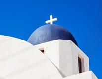 Cupolas from Santorini, Greece Royalty Free Stock Image