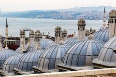 Cupole a Costantinopoli Immagini Stock