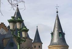 Cupole del castello Fotografia Stock Libera da Diritti