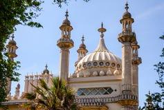 Cupole del padiglione reale e minareti Brighton East Sussex Southern fotografia stock