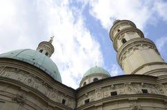 Cupole della cattedrale Immagine Stock