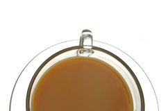 Cuppa Tea. Cup of tea isolated Stock Photos