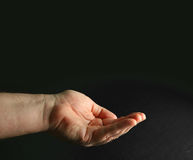 Cupped hand Royalty Free Stock Images