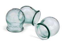 Cupping glass Royalty Free Stock Photography