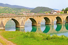 Cuprija bridge Royalty Free Stock Photos