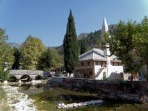 Cuprijska清真寺, Stolac (186) 库存照片