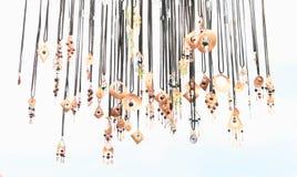 Cuprum hängear Arkivbilder